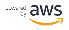 Powered AWS Logo